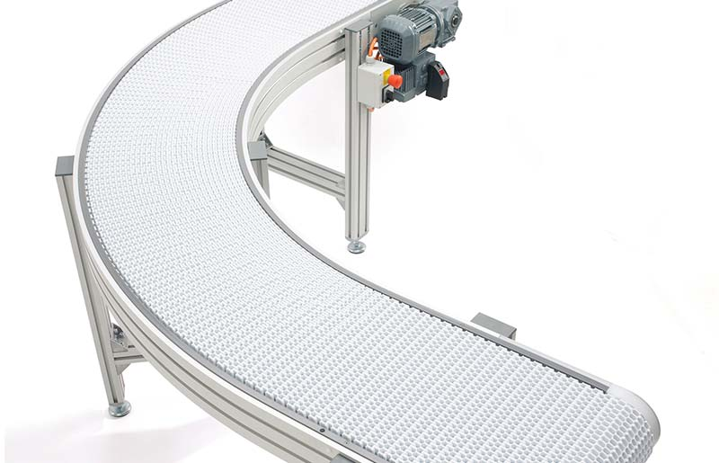 Flexlink Modular Wide Belt Conveyor